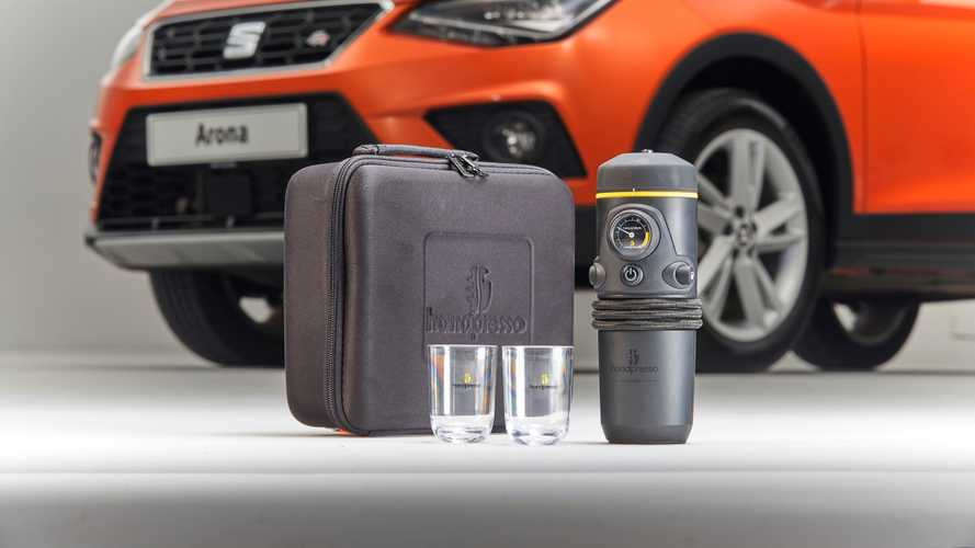 Seat launches in-car coffee machine for all models