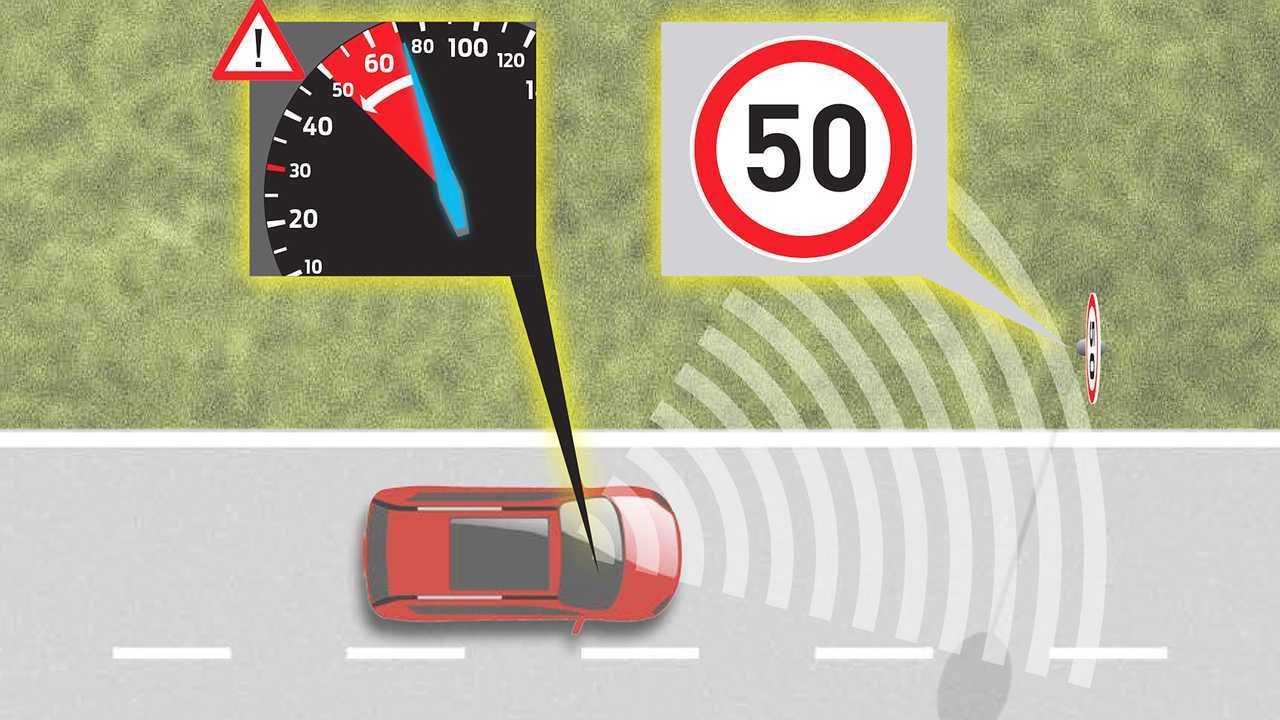 Limitatore di velocità intelligente (ISA)