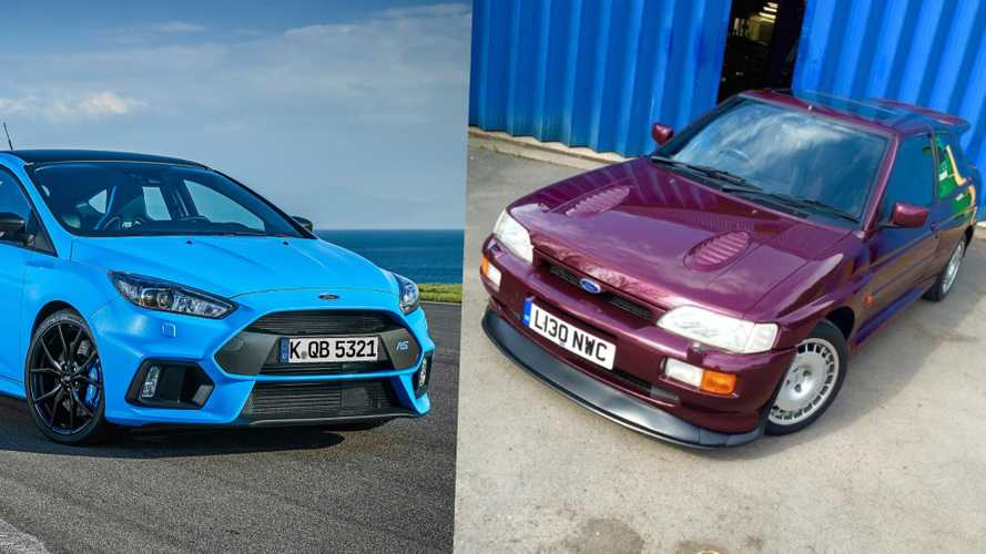 Generation X Vs Millennial: Ford Escort Cosworth Takes On Focus RS