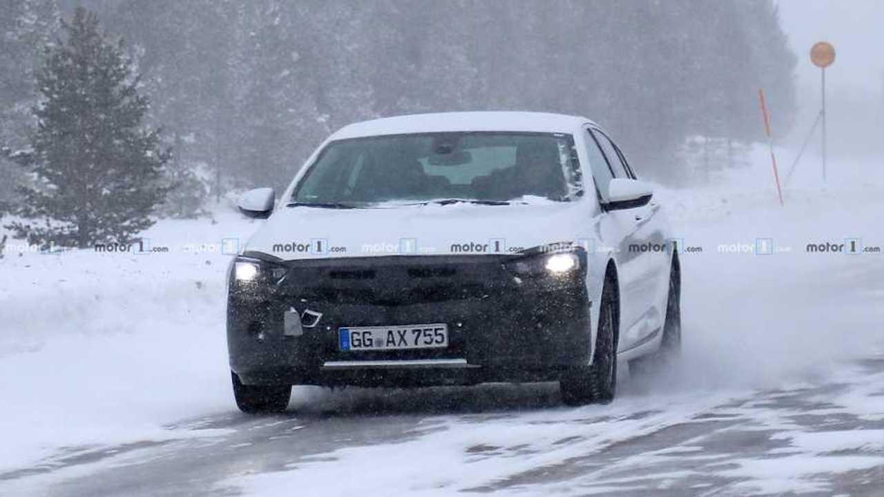 Opel Insignia neues Spionagefoto