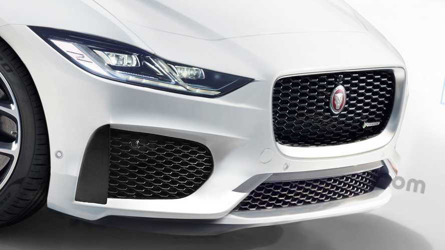 New Jaguar XJ render