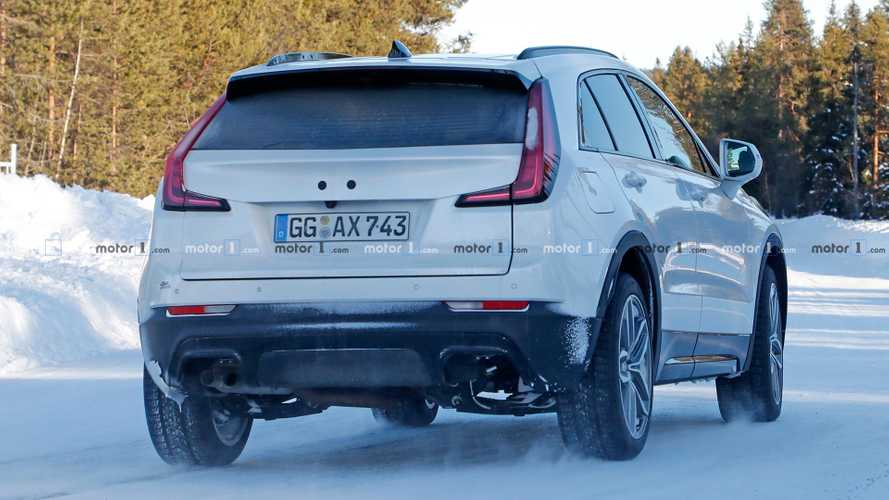 Cadillac XT4 Diesel Possibly Spied Again, Shows 2 Exhaust Layouts