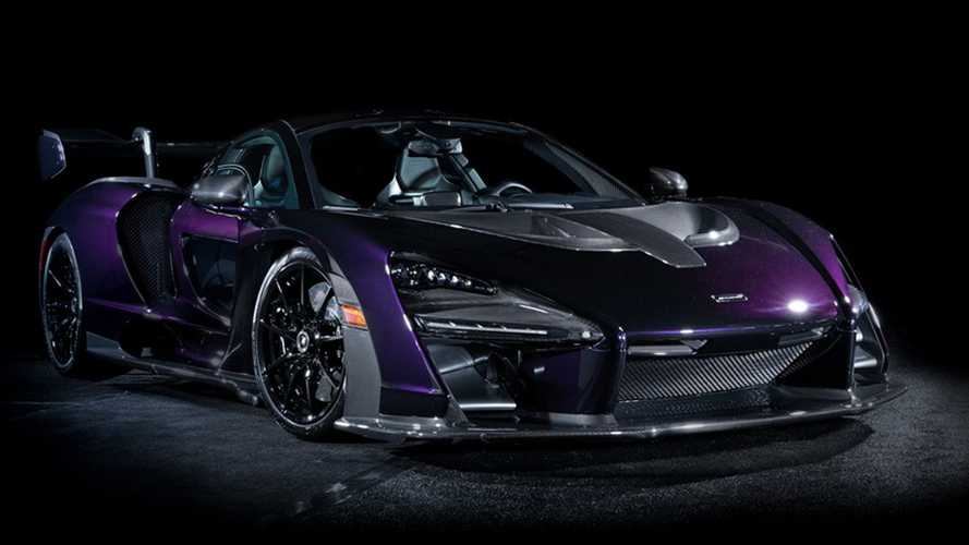 Low-mileage McLaren Senna hits auction in America