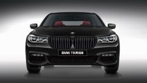 BMW 7-es sorozat Black Fire Edition