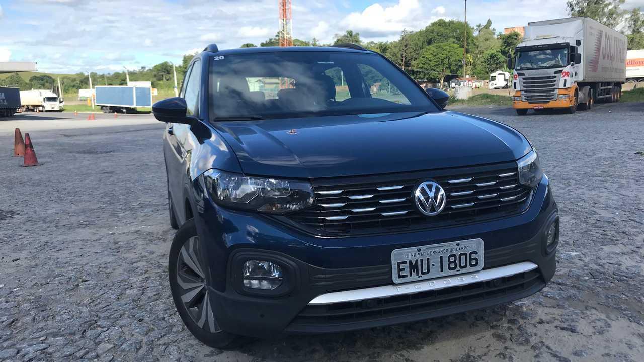 VW T-Cross Comfortline - RJ a SP