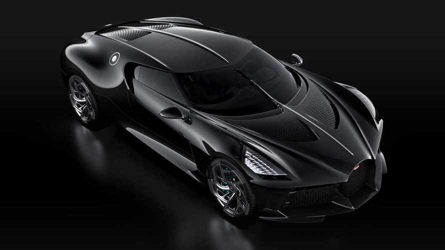 Bugatti La Voiture Noire, dünyanın en pahalı otomobili olmaya geldi