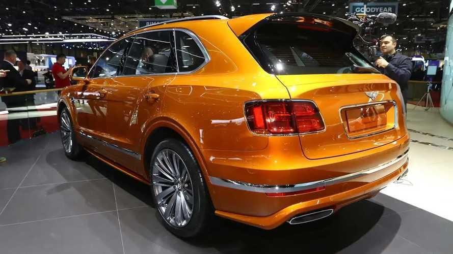 Bentley au salon de Genève 2019