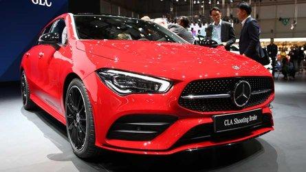Mercedes CLA Shooting Brake, è anche pratica