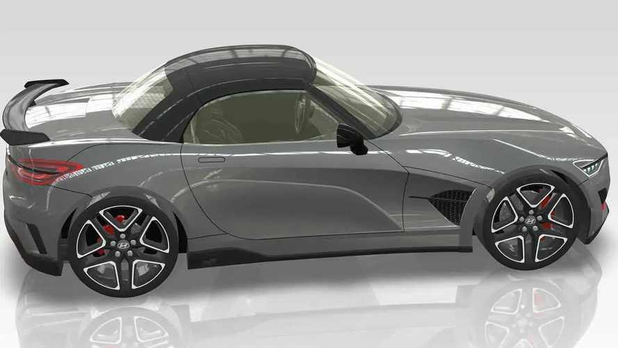 Hyundai N Roadster Render