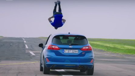 Richard Hammond tries to break the internet with risky stunts