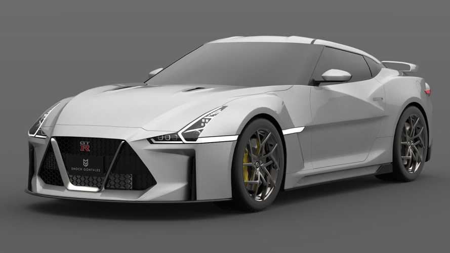 Nissan GT-R daha hırçın bir Godzilla olarak hayal edildi