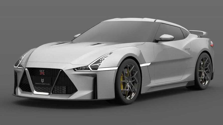 2021 NIssan GT-R Render