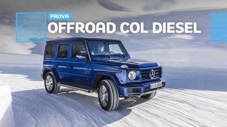 Mercedes Classe G, diesel da record per l'offroad