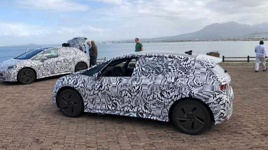 La Volkswagen I.D. camouflée se promène