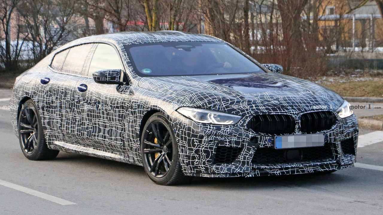 BMW M8 Gran Coupe spy photo