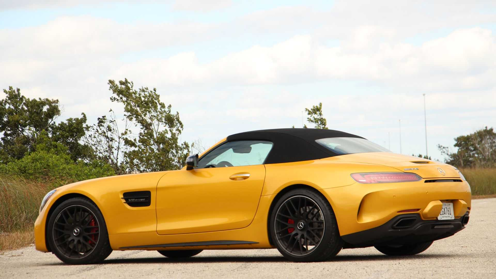 2019 Mercedes Amg Gt C Roadster Review Fast Banana