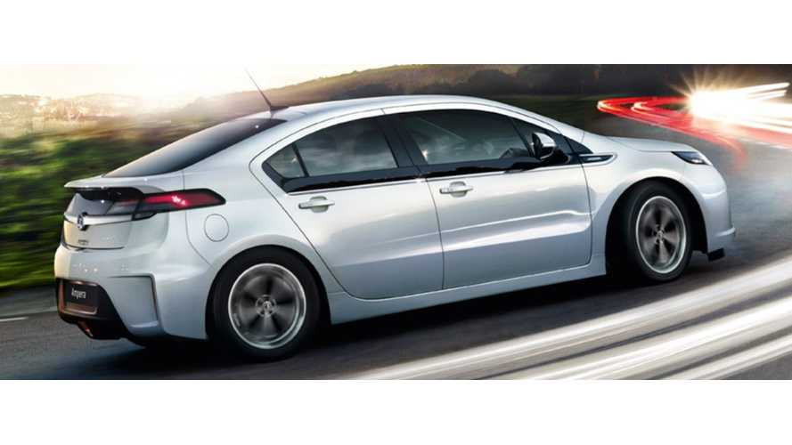Vauxhall Debuts Ampera 'Earth' In UK Showrooms From £29,995* ($46,500US)