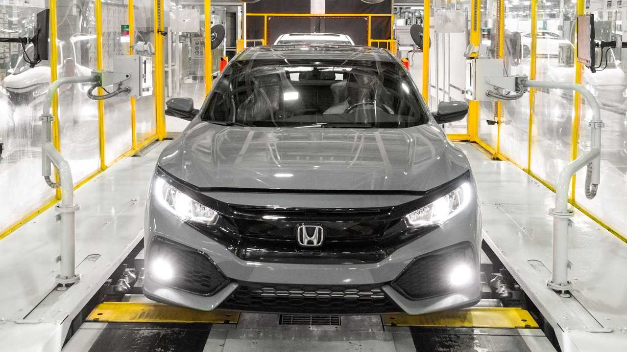Honda Civic production Swindon UK