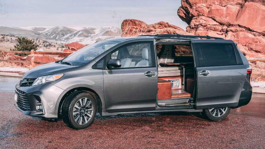 Nifty Minivan Camper Conversions Maximize Space Efficiency