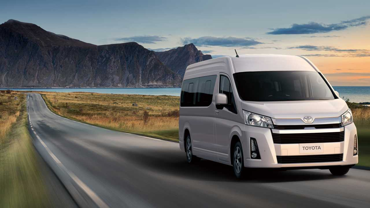 2019 Toyota Hiace Unveiled With Up To 17 Seats