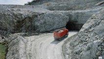 Volvo Driverless Truck At Mine