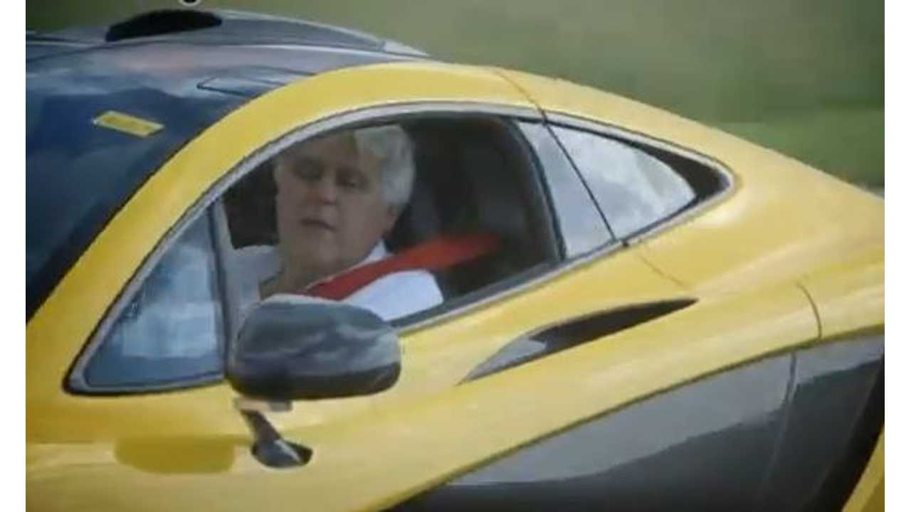 Video: Jay Leno Buys Then Drives McLaren P1