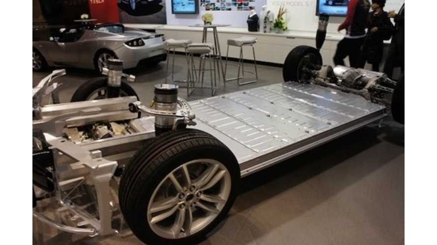 "Tesla Battery In The Model S Costs ""Less Than A Quarter"" Of The Car In Most Cases"
