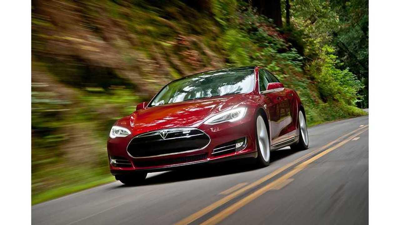 Video: Tesla Model S Goes 132 MPH On German Autobahn