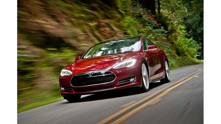 Video: Tesla Model S Goes 132 MPH On German Autobahn