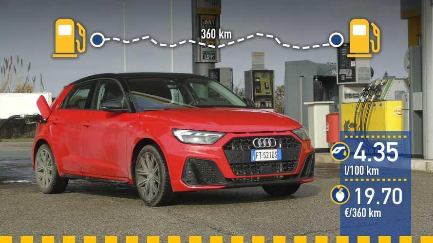 Audi A1 Sportback 30 TFSI 2019: prueba de consumo real