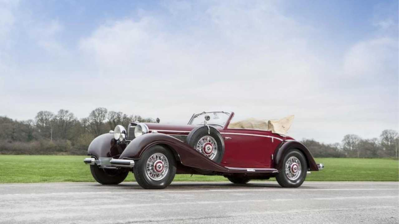 10. 1939 Mercedes-Benz 540 K Cabriolet — $1.7 Million