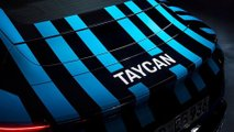 Porsche Taycan (camuffata)
