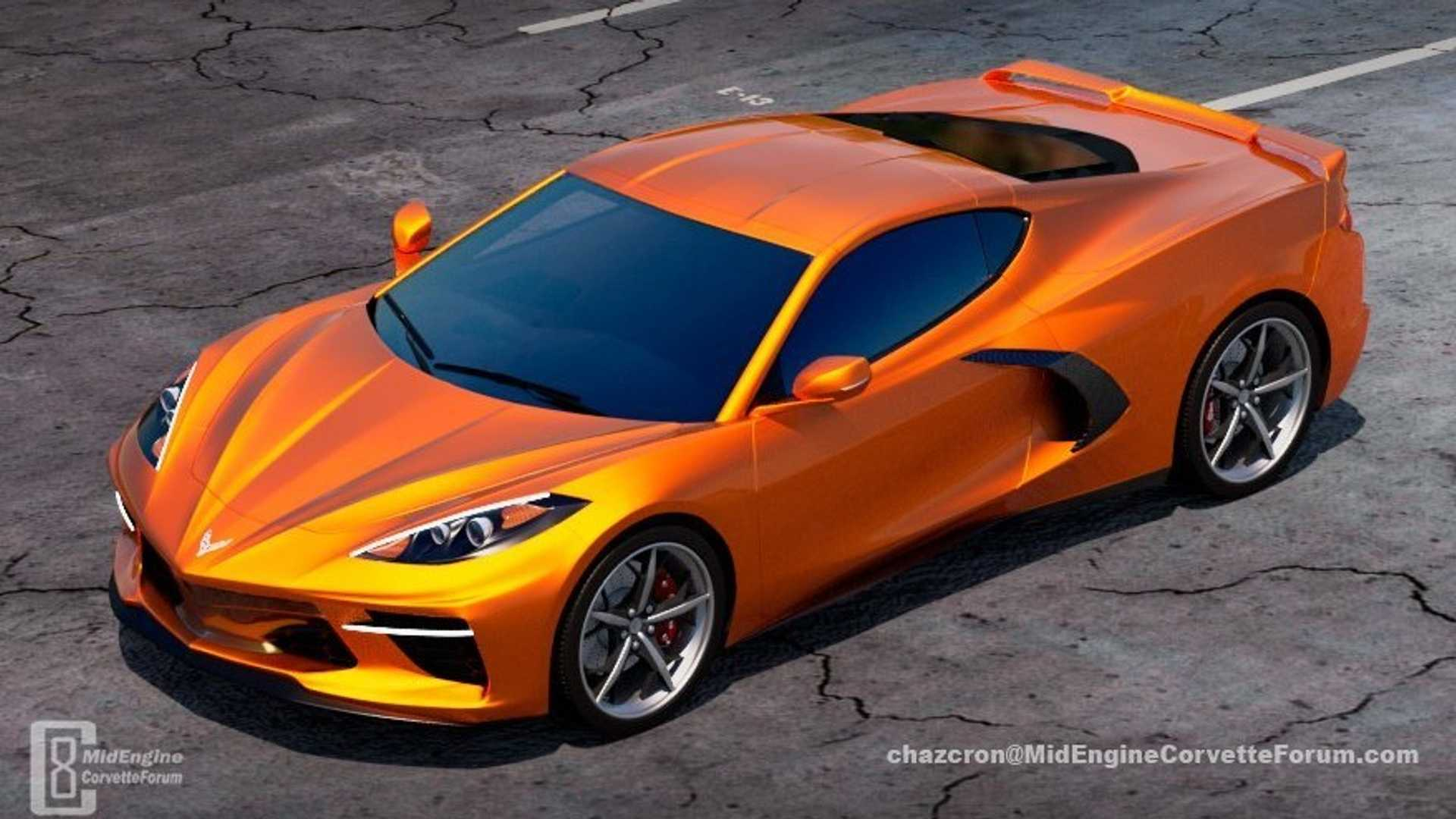2020 Corvette Color Chart.Mid Engine Corvette Colors Options Reportedly Leak