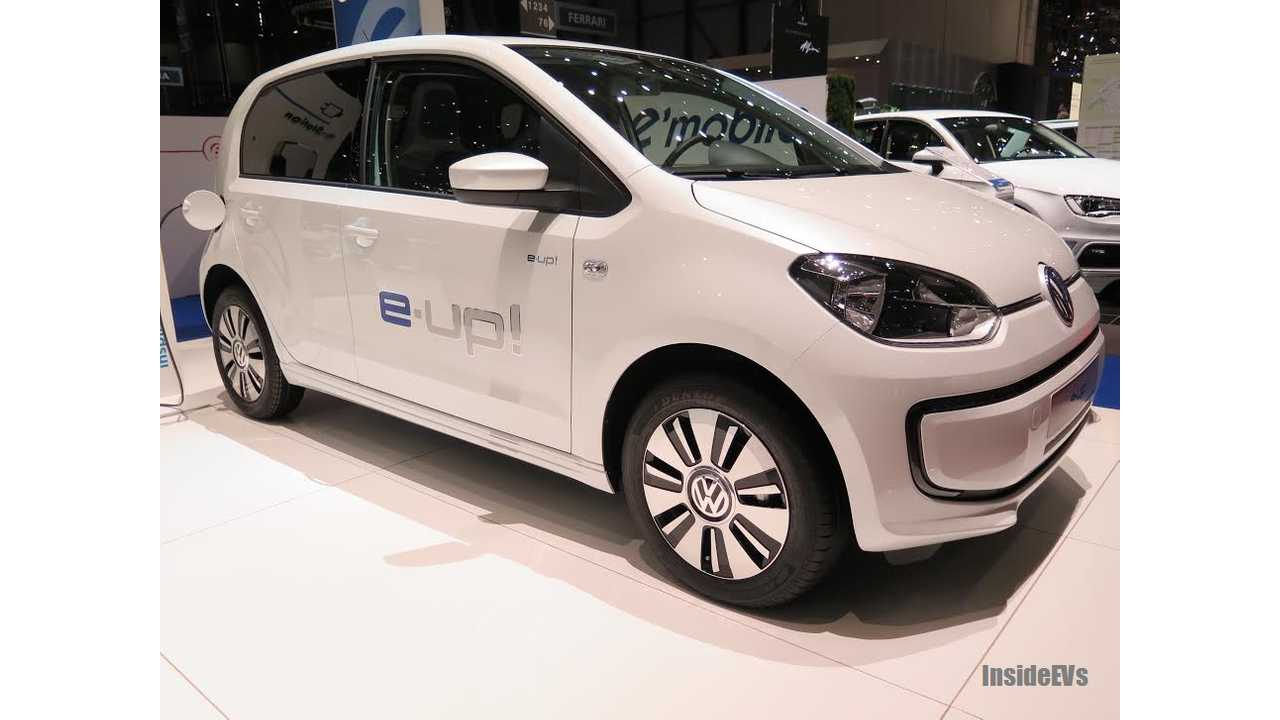Volkswagen e-Up! To Launch in China in Second Half Of 2014
