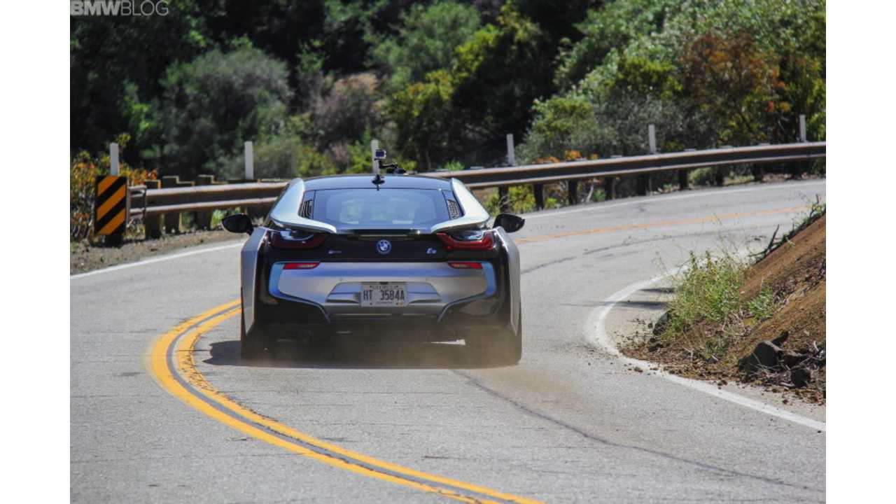 2015 BMW i8 Test Drive Review