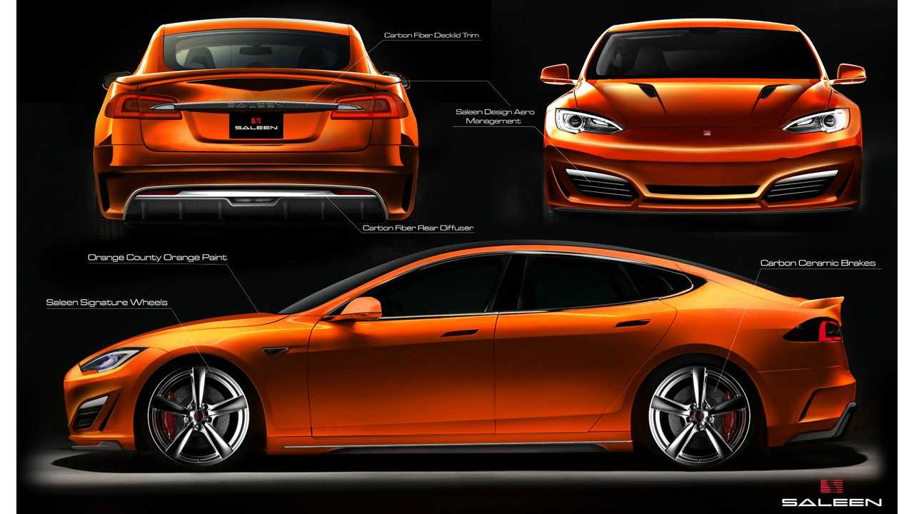 Saleen Tuned Tesla Model S To Be Sold In China Too