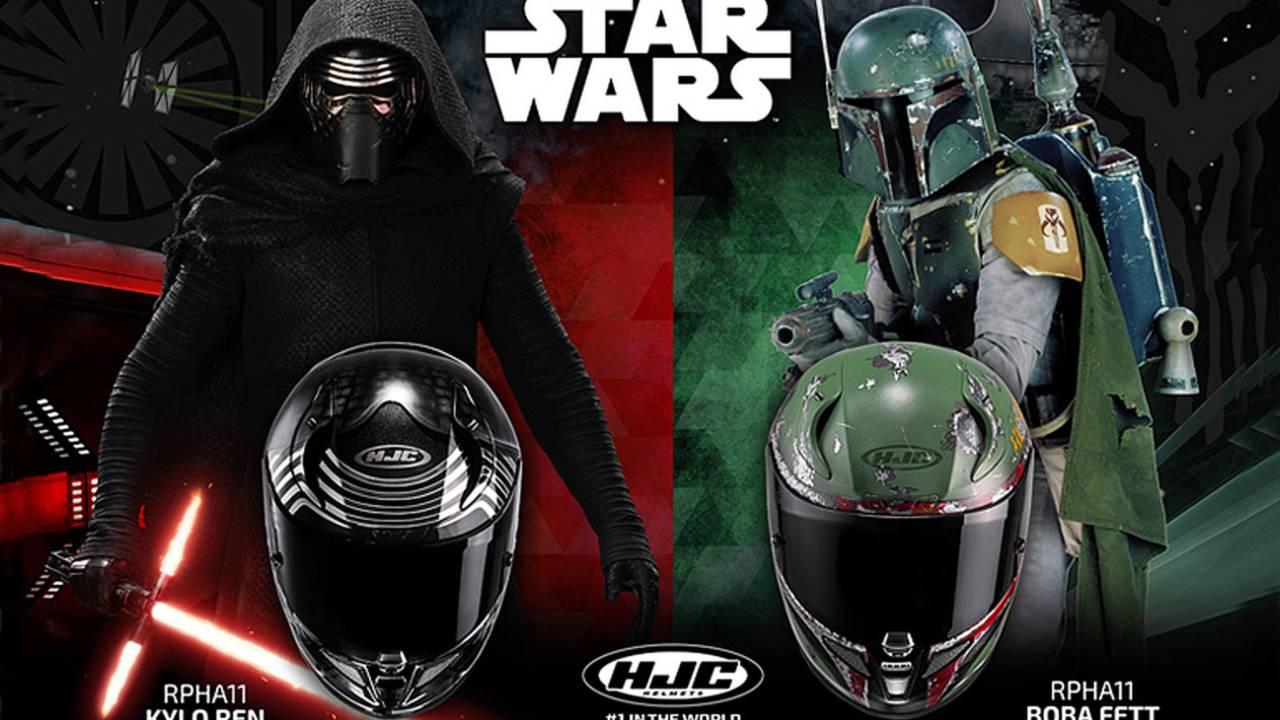 HJC Releases Star Wars Theme Motorcycle Helmets