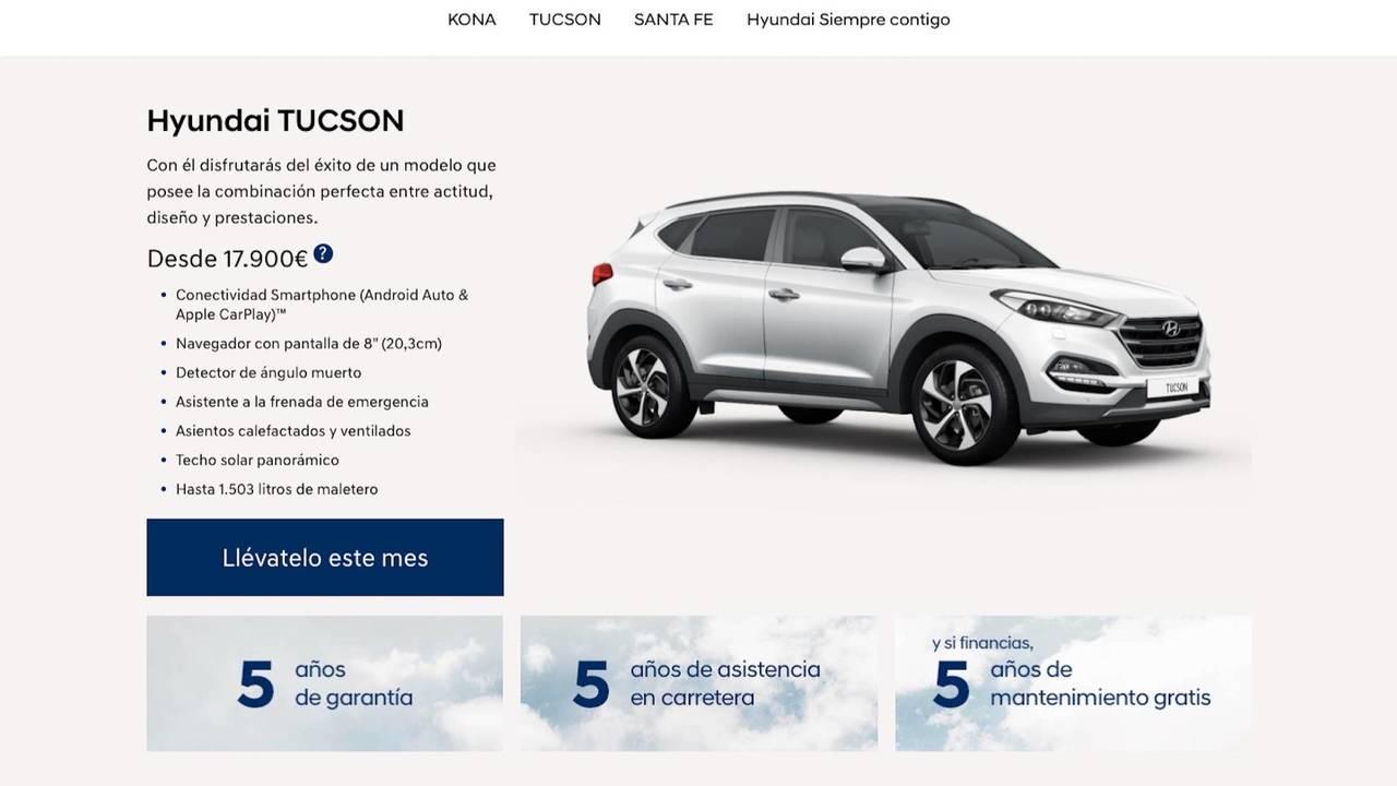 Hyundai Tucson 2018, desde 17.900 euros