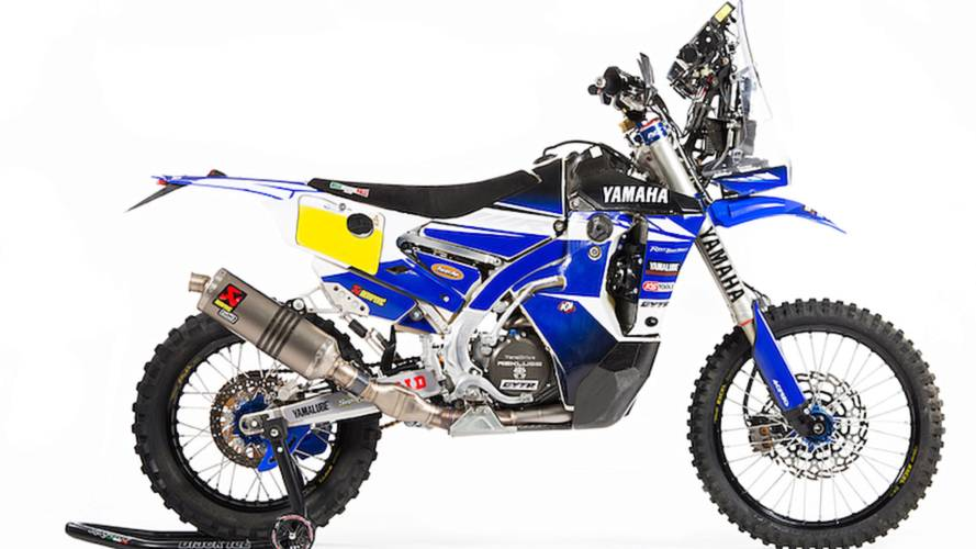 Yamaha Releases WR450F Rally Replica