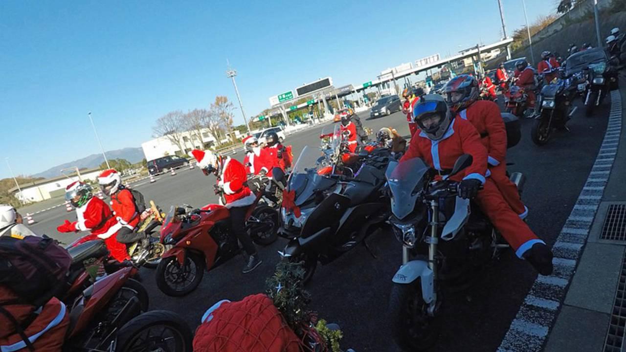 Santa Claus is a Biker - The 2017 Tokyo Toy Run