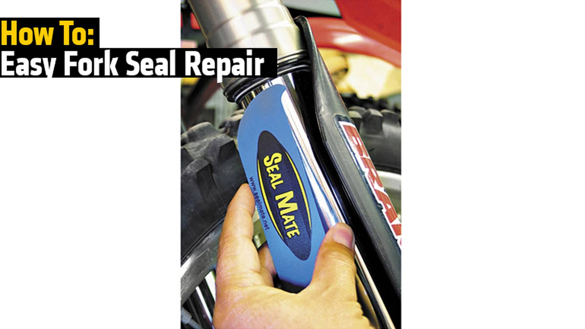 How To: Easy Fork Seal Repair