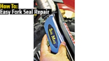 how to easy fork seal repair