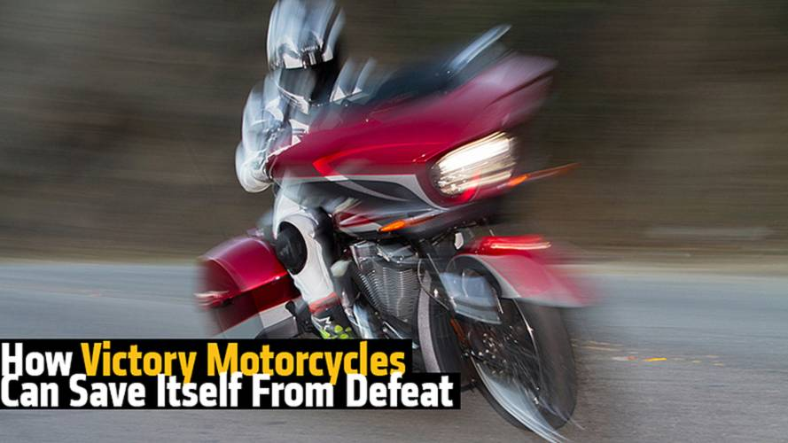 How Victory Motorcycles Can Save Itself From Defeat