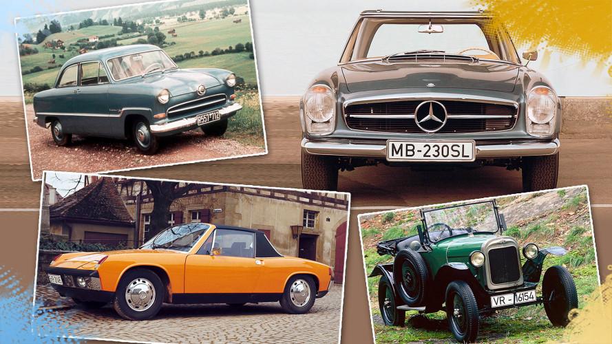 Die berühmtesten Auto-Spitznamen