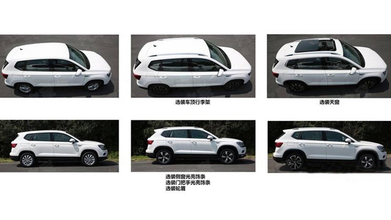 Volkswagen Tarek - Flagra na China