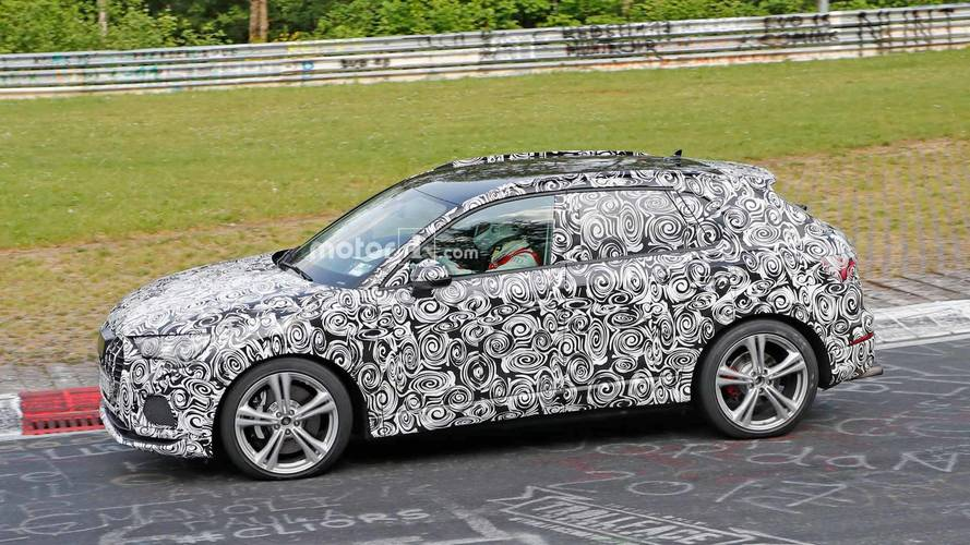 Audi RS Q3 Spy Shots