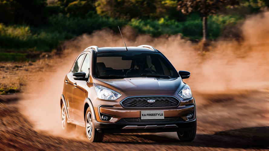 Avaliação Ford Ka Freestyle 2019
