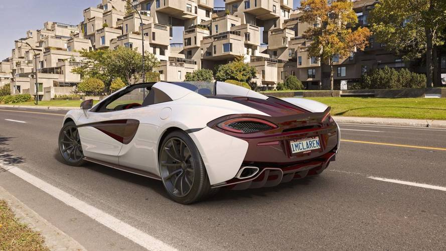 McLaren Creates Custom 570S Spider By MSO Just For Canada