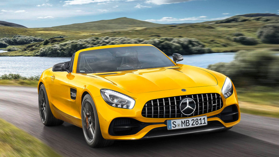 Mercedes-AMG GT S Roadster (2018) mit 522 PS