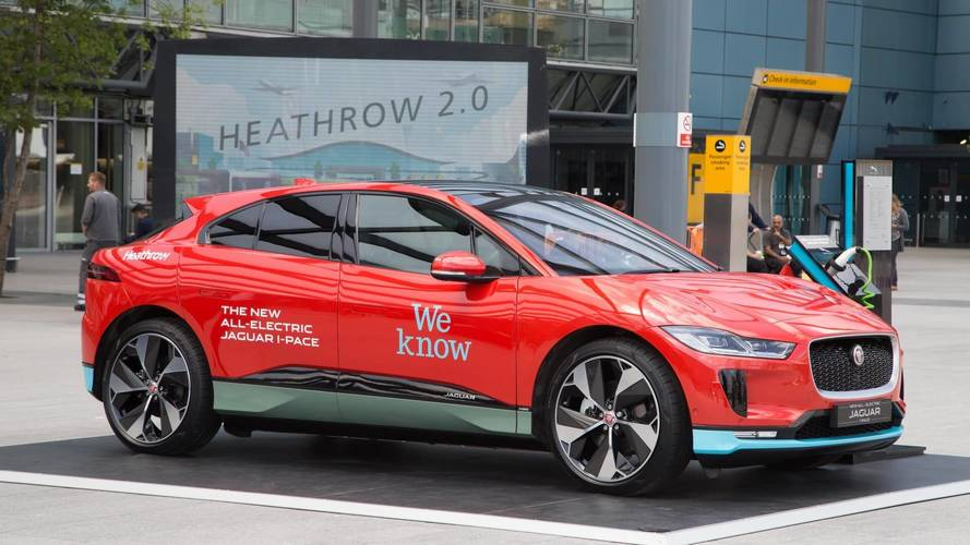 Jaguar I-Pace To Chauffeur Passengers To Heathrow
